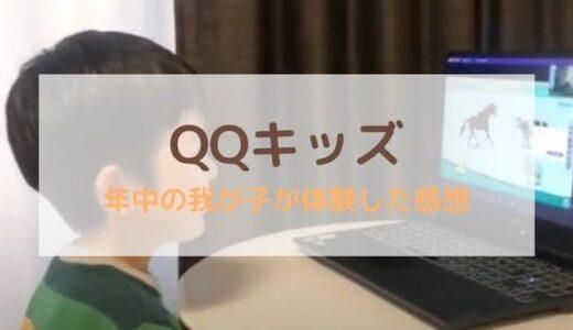 【QQキッズの口コミ体験談】年中の息子と受けてみました!